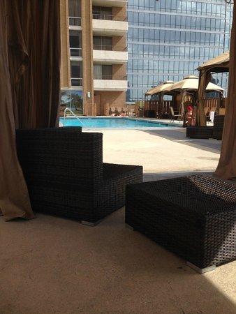 Crowne Plaza Hotel Dallas Downtown : Cabanna