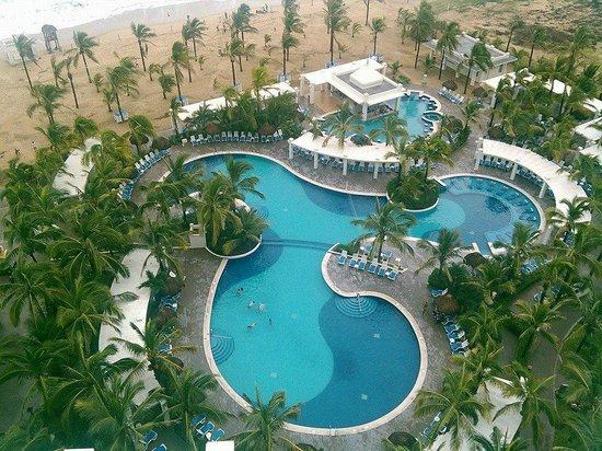 Hotel Riu Emerald Bay : excelente vista