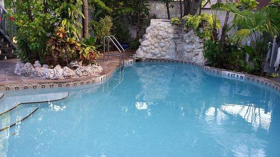 """The Cabana Inn Key West : """"the Pool"""""""