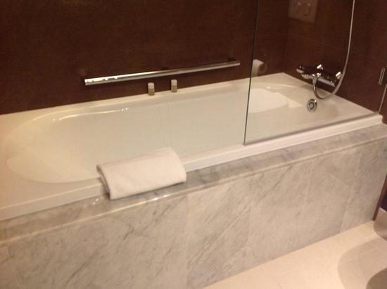 Crowne Plaza Geneva: Bathtub