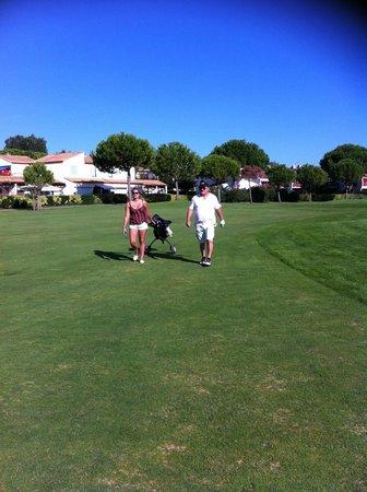Novotel La Grande Motte Golf: golf
