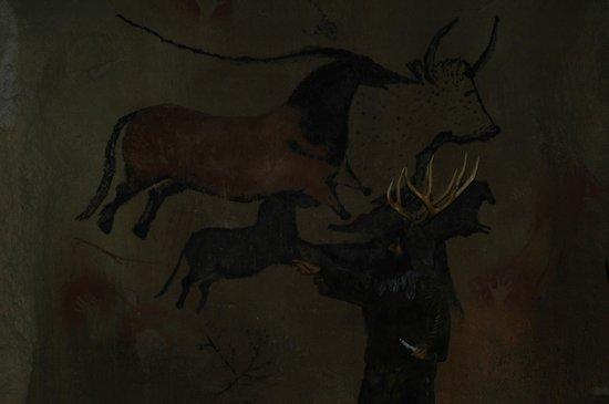 Territorio Dinópolis: Pinturas rupestres