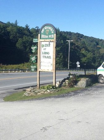 Inn at Long Trail: Sign outside of the Inn