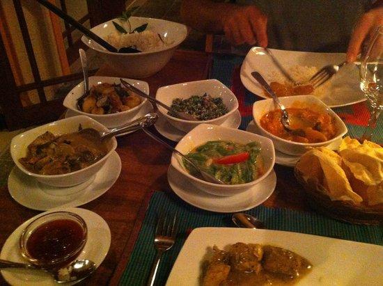 Villa Rosa : Srilankan menu