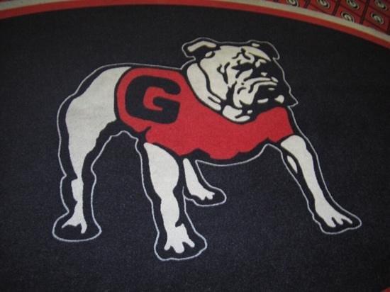 Georgia Gameday Center: hotelteppich