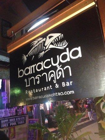 Barracuda Restaurant & Bar: Entrata