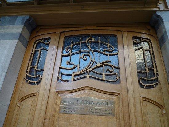 Horta-Museum: La porte d'entrée
