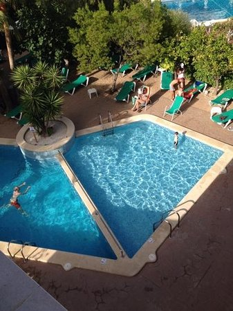 Flor Los Almendros Hotel and Apartments: salt water pool