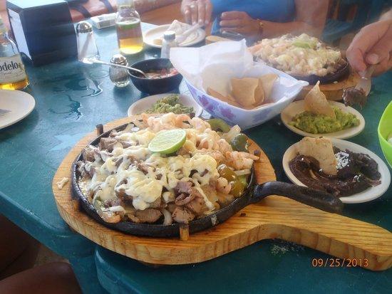 Senor Iguana: Beef Fajitas YUMMY