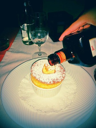 Le Tournesol : Orange Souffle avec cognac