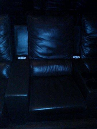 Silverspot Cinema: Comfy seat