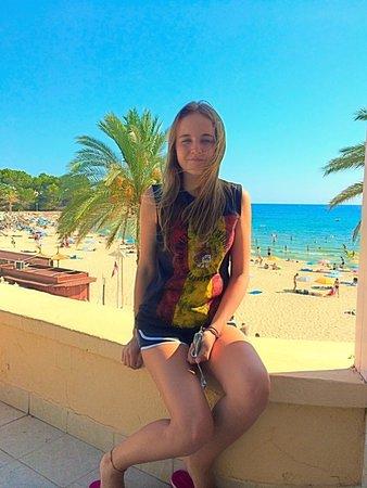 Hesperia Mallorca Villamil : пляж