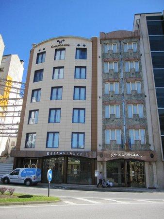 Hotel Campoamor: Fachada