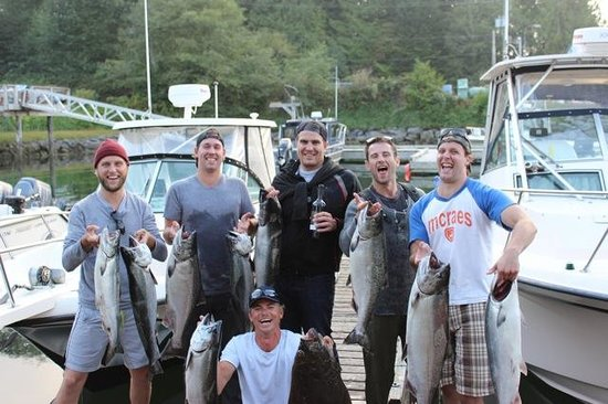 Tonquin Fishing Charters: Day's Catch