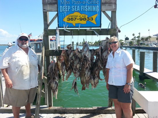 Miss Pass-A-Grille: Fishing at St. Pete, Florida