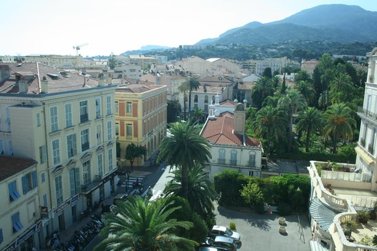 Quality Hotel Mediterranée: View from the hotel roof