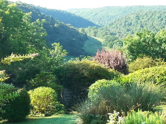 Moorlands Country House: The view from the dining room