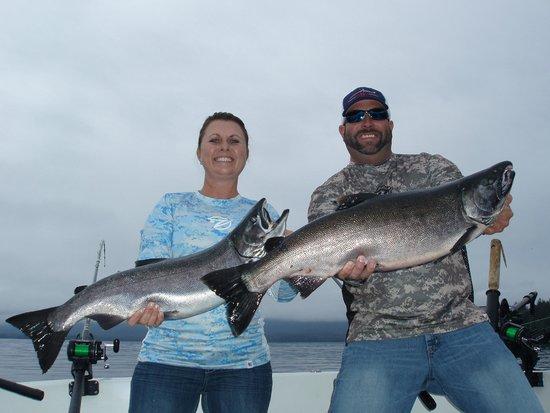 AAA Sportfishing Co.: Salmon fishing with AAA Sport Fishing Co.