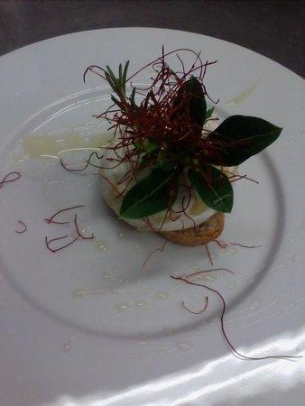 Hotel Ristorante Siro: tomino gratinato