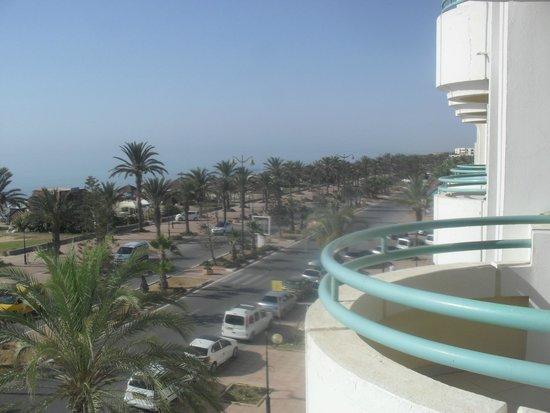 El Mouradi El Menzah: vista da varanda do quarto