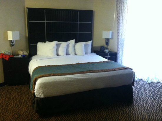 Embassy Suites by Hilton LAX North : King size bed