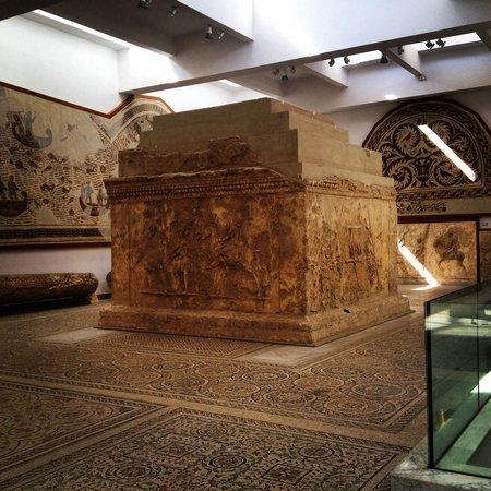 Musée National du Bardo : Mosaïques marines
