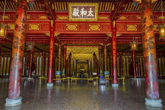 مدينة هيو الإمبراطورية (القلعة): Hall of Supreme Harmony