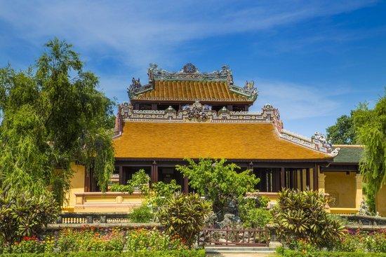مدينة هيو الإمبراطورية (القلعة): Beautiful Garden