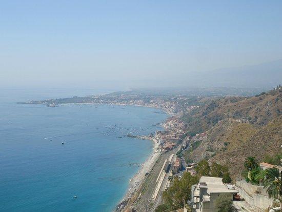Hotel Villa Paradiso: Vista desde la terraza