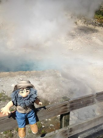 Explorer Cabins at Yellowstone : Thanks for providing endless entertainment with the #YellowstoneJack doll!