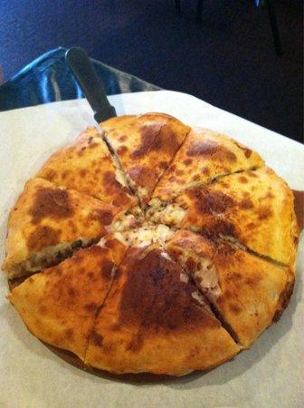 Genesis Italian Grill: Meat lovers stuffed pizzette