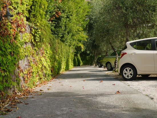 Holidays Fico d'India: Car parking