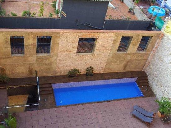 Onix Liceo Hotel : Piscina vista dalla camera 407
