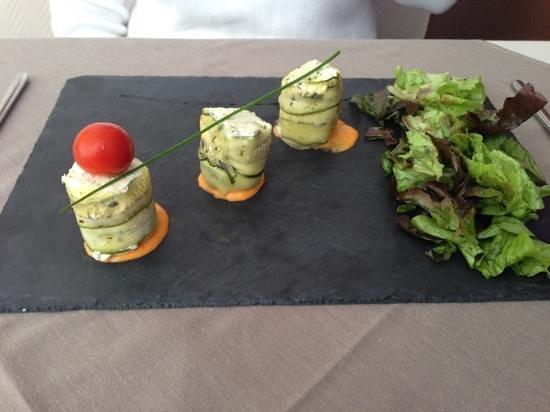 4 saisons : Maki de courgette au fromage frais