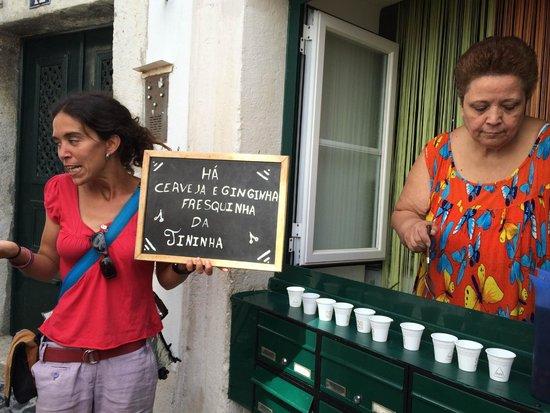 Lisbon Chill-Out Free Tour: Ginjinha da Tininha