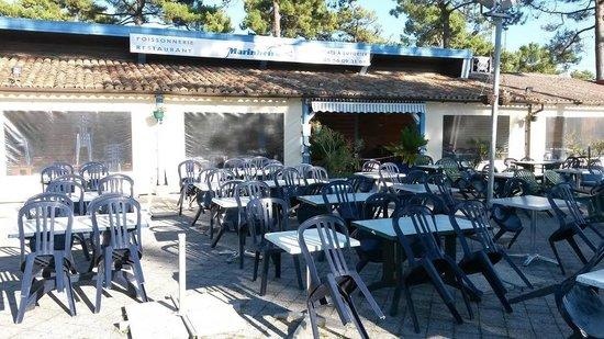 Vendays Montalivet, Prancis: Restaurant Marinheiro à l'intérieur du CHM Montalivet
