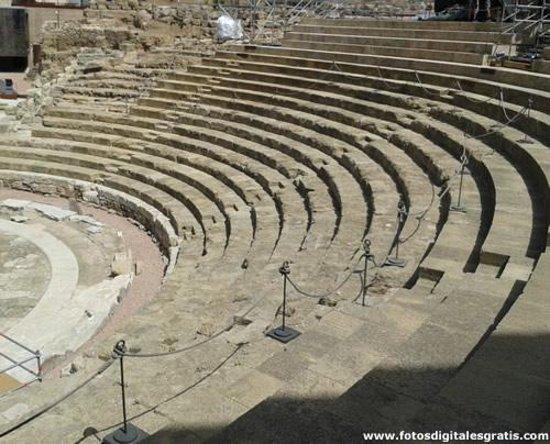 Teatro Romano de Málaga: Teatro Romano ciudad de Málaga