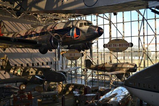Museo Nacional del Aire y el Espacio: Museu adorável