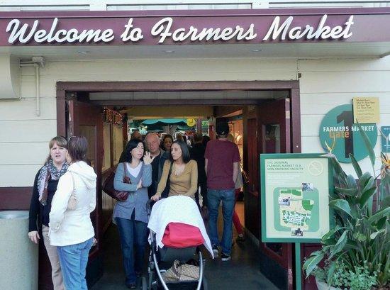 The Original Farmers Market: Entrance.
