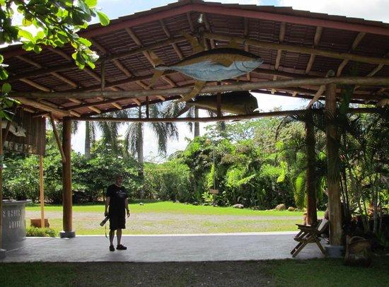 Las Islas Lodge : Reception