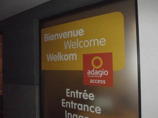 Adagio Access Brussels Europe: Bom serviço