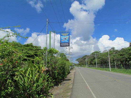 Las Islas Lodge : Main Road from Puerto Jimenez