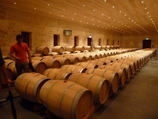 Listrac-Medoc, France: The Cellar at Fourcas Hosten