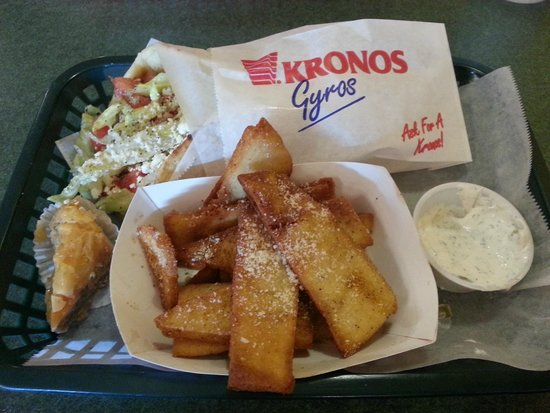Little Athens Gyro: Our adviсe: take combo with pita fries