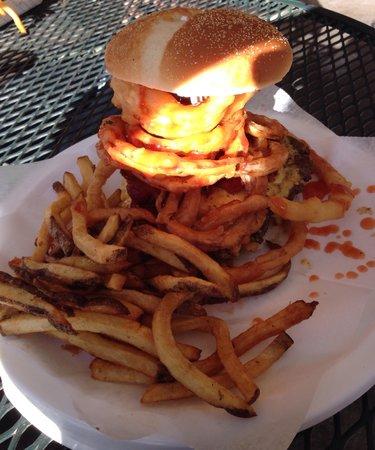 Maggie's Kitchen: 4/20 burger.