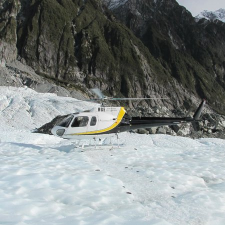 Fox & Franz Josef Heliservices : Brace yourself...it's definitely not like riding in a plane!