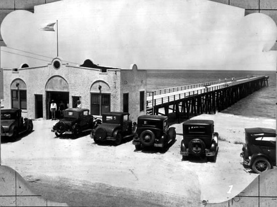 Flagler Beach Pier Historical Picture