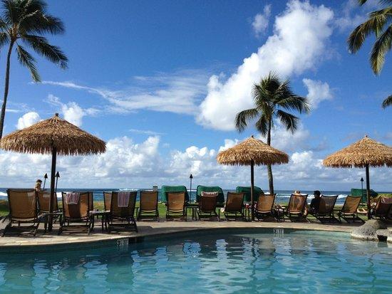 Sheraton Kauai Resort: View from pool lounger