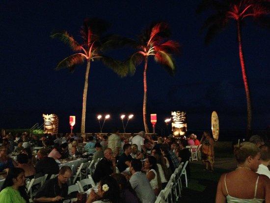 Sheraton Kauai Resort: Luau stage