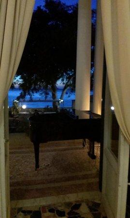 Hotel Villa Ottone : Le piano bar